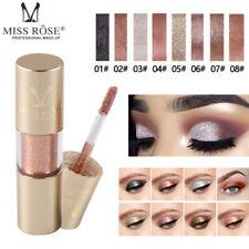 Metallic Shiny Glitter Eyes Eyeshadow Waterproof Glitter Liquid Eyeliner Makeup