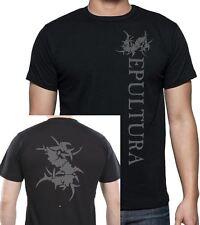 Sepultura Thrash Metal T Shirt 2 Sided Print