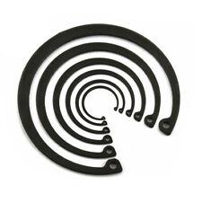 Internal Retaining Ring,Snap Rings for Bore,Black Steel,Φ8mm - Φ20mm