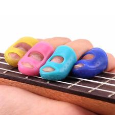 Guitar Finger Protector Fingertip Picks Silicone Guard For Plectrum Bass Ukulele