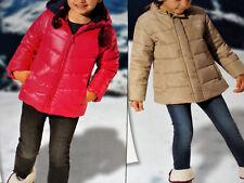 Mädchen Winter Jacke Schneejacke 74/80 86/92 98/104 110/116 pink/beige NEU
