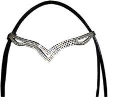 NUOVO Designer ve Clear Crystal Browband GRANDE IDEA REGALO PER * OFFERTA * NERO
