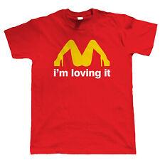 Je suis Loving It, Hommes Drôles T Shirt-Sexy Parodie Sale Nourriture Cadeau Lui Papa Pères