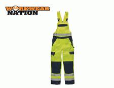 Dickies Industry Hi-Vis Bib & Brace High Visibilty Yellow
