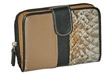 Womens Faux Leather Animal Print Purse Wallet Handbag Card Holder Ladies Bag