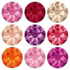 Genuine SWAROVSKI 2058 & 2088 Piatto Indietro cristalli NO HOTFIX * Molti Colori E Taglie