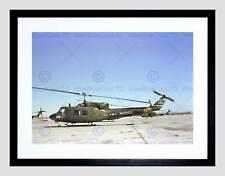 MILITARY AIR CRAFT CHOPPER MARINE BELL UH1N HUEY HELICOPTER ART PRINT B12X7607