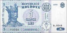 Moldawien / Moldova 5 Lei 2006 Pick 9