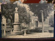 cpa 38 champier les monuments