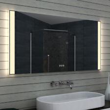 NEU Badezimmerspiegel badspiegel LED Multifunktions-Touchschalter 60-140cm MLO