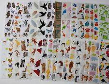 Mrs. Grossman sticker sheet You Choose - Animals A