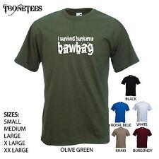 """""""yo sobrevivió huracán bawbag' - gracioso para hombres Camiseta. S-XXL."""