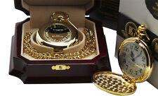 GEMINI Custom Engraved Personalised Star Sign Zodiac Pocket Watch  Luxury Case