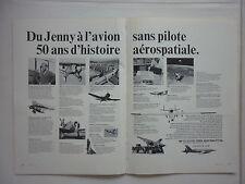 8/1975 PUB TELEDYNE RYAN AERONAUTICAL SAN DIEGO FIREBIRD FIREBEE SURVEYOR ADVERT