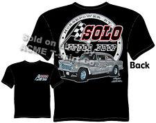 55 Chevy Tshirt 1955 Gasser Racing T Shirt Solo Speed Shop Tee Sz M L XL 2XL 3XL