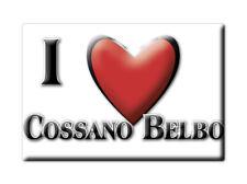 CALAMITA PIEMONTE FRIDGE MAGNET MAGNETE SOUVENIR LOVE COSSANO BELBO (CN)