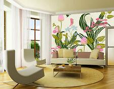 3D Lovely flower 1D Wall Paper Murals Wall Print Decal Wall Deco AJ WALLPAPER