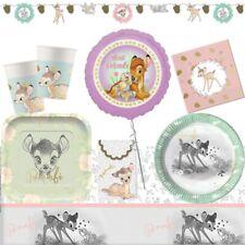Disney Bambi & Panpan Fournitures de Fête D'Anniversaire (Décorations de Table