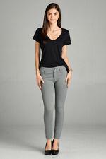 Juniors & Plus 5-Pockets Shape Skinny Ponte Slim Casual Pants