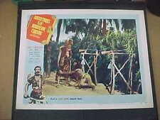 ADV OF ROBINSON CRUSOE, orig 1954 LC #4 [Dan O'Herlihy]