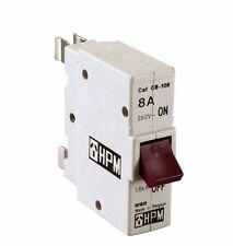 HPM PLUG-IN CIRCIUT BREAKER Plastic Color Coded- 8A 16A 20A or 32A