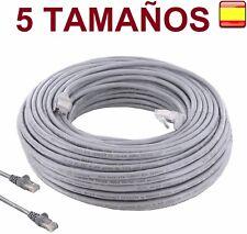 Cable de red RJ45 CAT 5E UTP Ethernet PC router Internet 5, 10, 15, 20, 30 Mts
