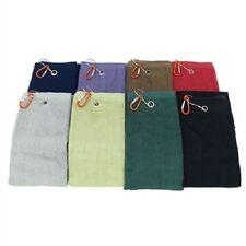Bamboo Fiber Golf Sports Towel with Lanyard Clip