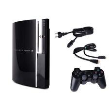 PS3 Fat Konsole 40GB 60GB 80GB 160GB Festplatte - Zubehörpaket frei wählbar