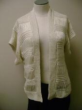 RXB Crocheted Cardigan Sweater S NWT
