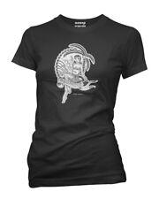 Aquarius Retro Zodiac Pinup Tattoo Shirt By Aesop Original Clothing