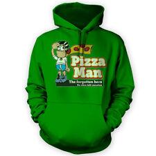 Pizza Man Hoodie -x12 Colours- Gift Funny Lover Superhero Humor Meme