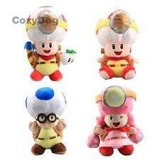 Super Mario Run Captain Toad Toadette Backpack Treasure Tracker Plush Toys Doll