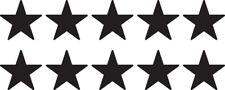 Set of 10 Small Star Decal Window Sticker Tumbler Decor Space Vinyl Kids Target
