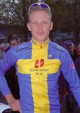 Carte postale Coups de Pédales Mickael Stevenson champion de Suède 2010