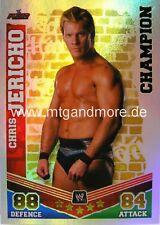 Slam Attax Mayhem #010 Chris Jericho Champion