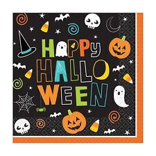 Amscan Halloween Friends- Serviette de table (Lot de 6) (SG16168)