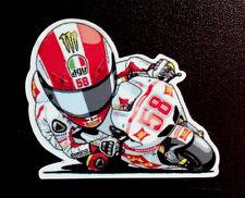 Simoncelli Marco moto super SIC 58 adesivo stickers motogp adesivi caricatura