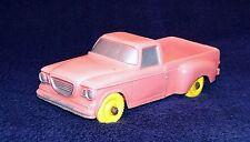 Tomte Laerdal 1:30 STUDEBAKER CHAMP 1962 PICK-UP TRUCK Soft Red Vinyl PVC Car NM