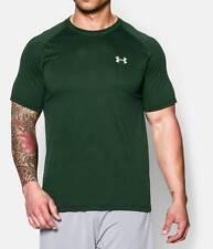 Under Armour Men's UA Tech Short Sleeve T-Shirt FORREST GREEN 1228539 301 SM-XL