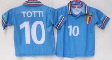 1 MAGLIA ITALIA-TOTTI 10-NON CONFORME ALL'ORIGINALE-ANNI 2-LUNGHEZ. 37/SPALLE 31