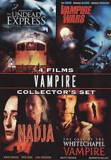DVD Vampires Collector's Set (The Undead Express / Vampire Wars / Nadja / The Ca