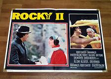 ROCKY 2 II fotobusta poster affiche lobby card Sylvester Stallone Pugilato AJ16