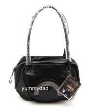 MIMCO MINI HALF MOON LEATHER DAY BAG IN BLACK BNWT RRP$379
