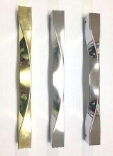 Maniglione in zama per porte e portoncini con fissaggio per vetro e/o per legno