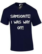 SAMSONITE MENS T SHIRT FUNNY DUMB AND DUMBER RETRO MOVIE FILM QUALITY S - 5XL