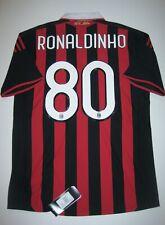 New 2009-2010 Adidas AC Milan Ronaldinho Home Kit Calcio Maglia Shirt Jersey