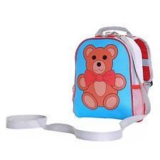 Teddy Toddler Kids Boys Girls Children Rucksack Backpack Bag With Safety Rein