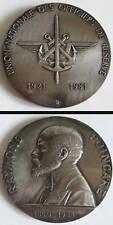 Superbe Médaille Raymond POINCARÉ Bronze argenté signé PRUDHOMME medal