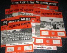 Nottingham Forest 1968-1972 - Seleccione su programa ** Envío Gratis en Reino Unido **