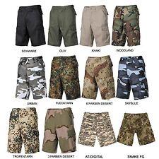 US Army BW BDU Bermuda Shorts Tempo Libero Pantaloni Cargo Pant Pantaloni corti CAMO